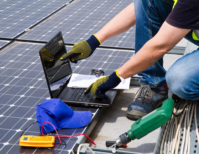 Manutenção de instalações fotovoltaicas