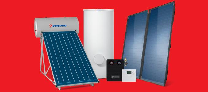 Vulcano oferece soluções solares térmicas integradas