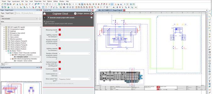 M&M Engenharia Industrial: EPLAN Cogineer Free: nova ferramenta para criação esquemática automatizada