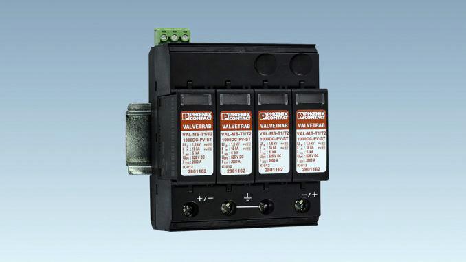 Phoenix Contact: segurança reforçada de sistemas fotovoltaicos