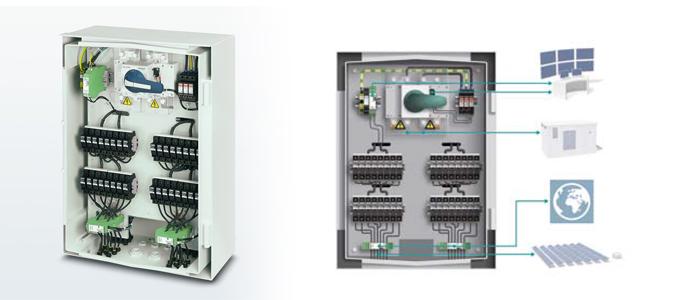 a próxima geração de caixas fotovoltaicas