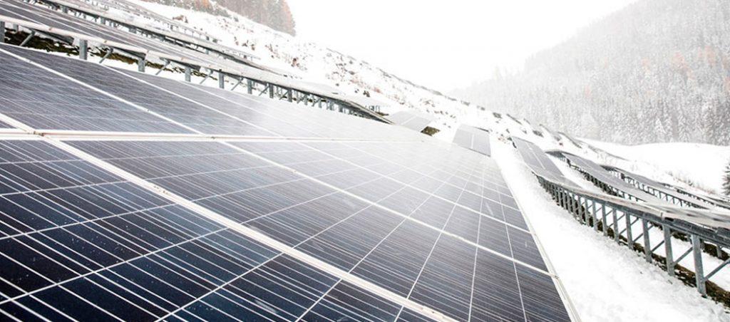 Aproveitar a radiação solar no inverno com a Fronius
