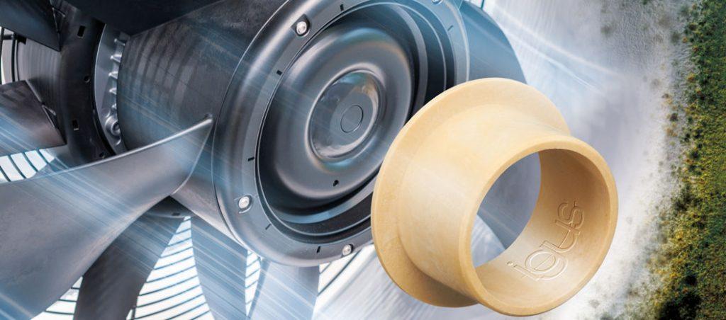Casquilhos deslizantes em polímero da igus passam nos testes