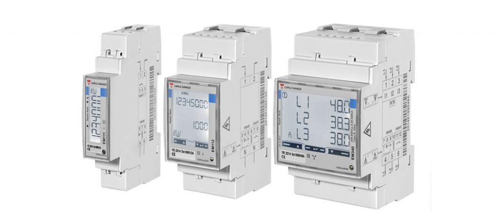 Carlo Gavazzi: EM100 / EM300 – Analisadores de energia