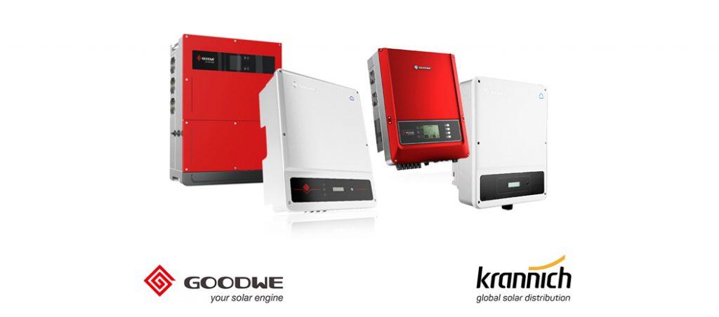Krannich Solar assina acordo com GoodWe para vender inversores fotovoltaicos na Europa