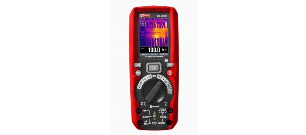 RS Components lança multimetro digital RS PRO que mostra imagens térmicas