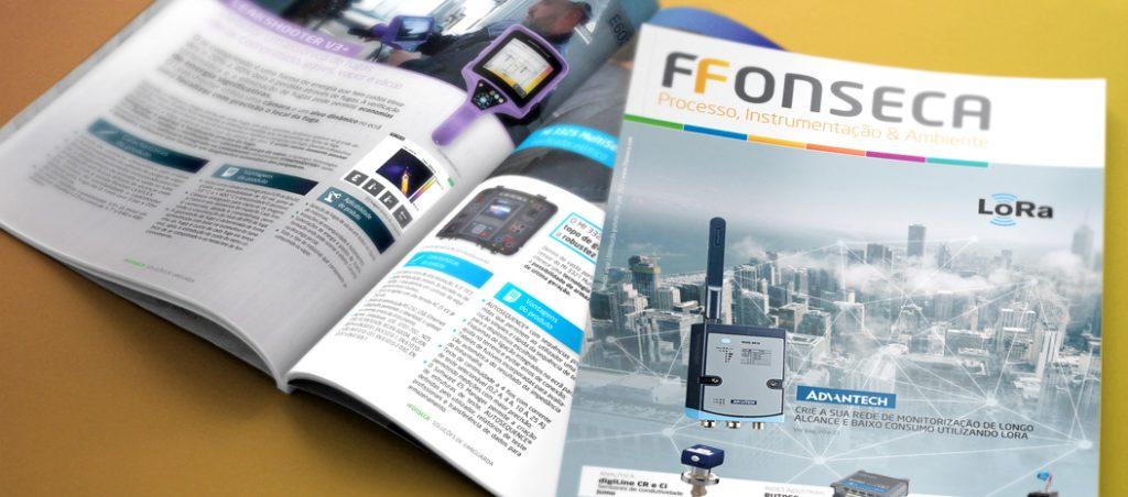 Nova revista F.Fonseca Processo, Instrumentação & Ambiente, edição 2020