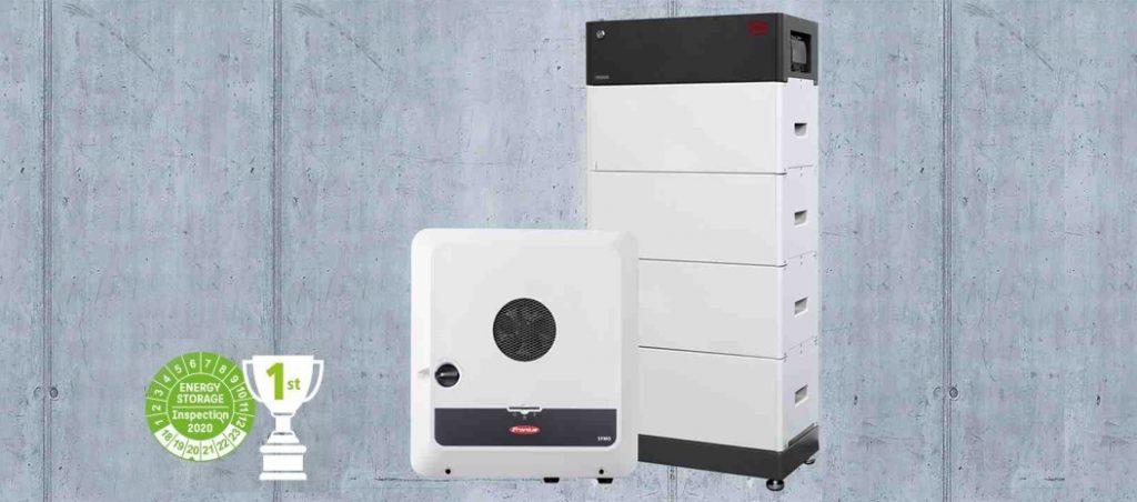 1º lugar em inspeção de armazenamento doméstico de energia fotovoltaica para Fronius e BYD
