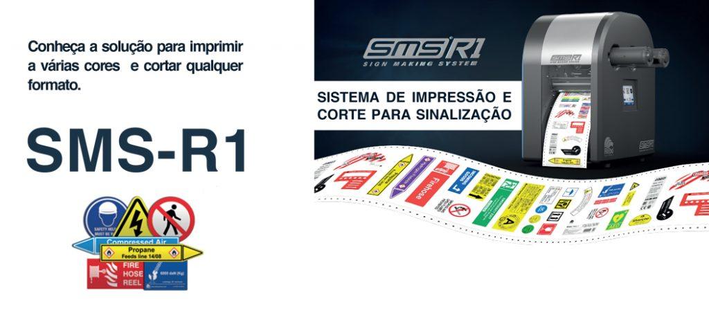 Labeltronix®: SMS – R1: solução para imprimir a várias cores e cortar qualquer formato