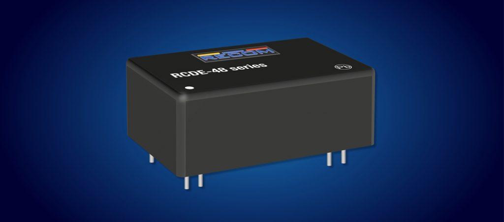 RUTRONIK: drivers reguláveis de LED 1 A com faixa de entrada variável da Recom