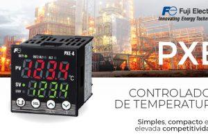 Bresimar Automação: controlador de temperatura PXE da Fuji Electric