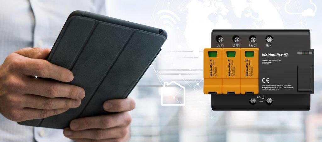 Weidmüller: novo dispositivo de proteção contra sobretensão – status em tempo real
