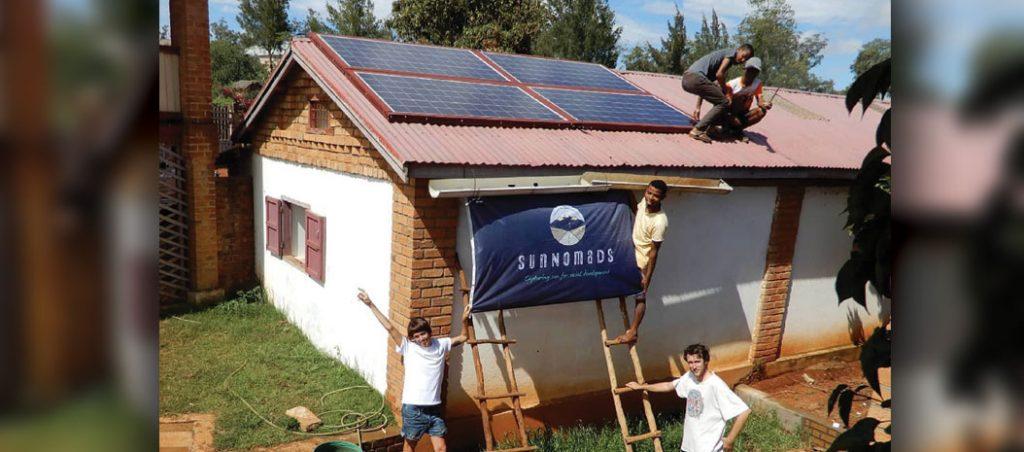 Amara colabora com Sunnomads contra a pobreza energética