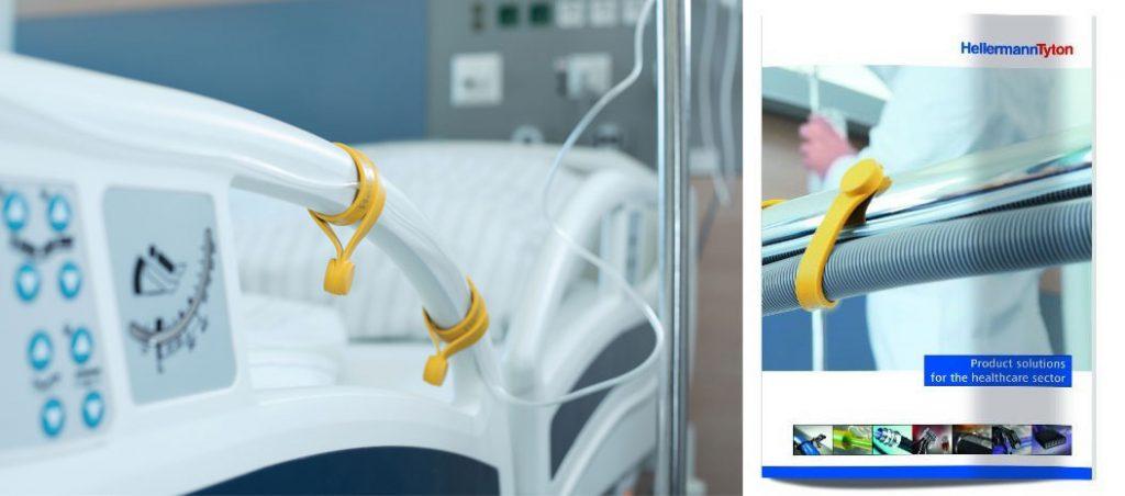HellermannTyton: novo catálogo de soluções para o setor de saúde