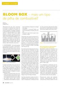 Artigo sobre BLOOM BOX