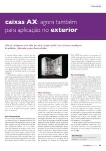 Artigo sobre caixas AX