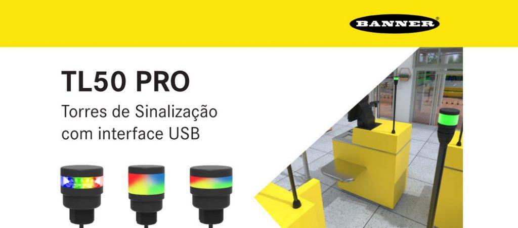 Bresimar Automação: indicadores TL50 PRO com interface USB