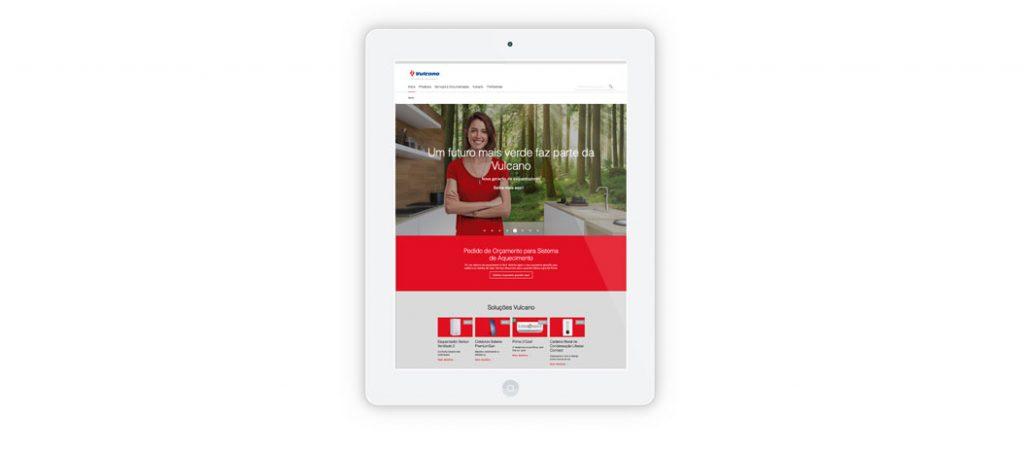 Vulcano lança novo website