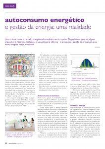 Artigo sobre Autoconsumo energético e gestão da energia
