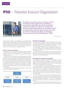 Artigo sobre PID (Potential Induced Degradation)