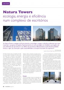 Artigo sobre Natura Towers