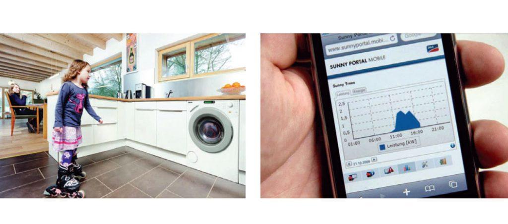 Os nossos lares são inteligentes - a gestão inteligente de energia é o fornecimento do futuro