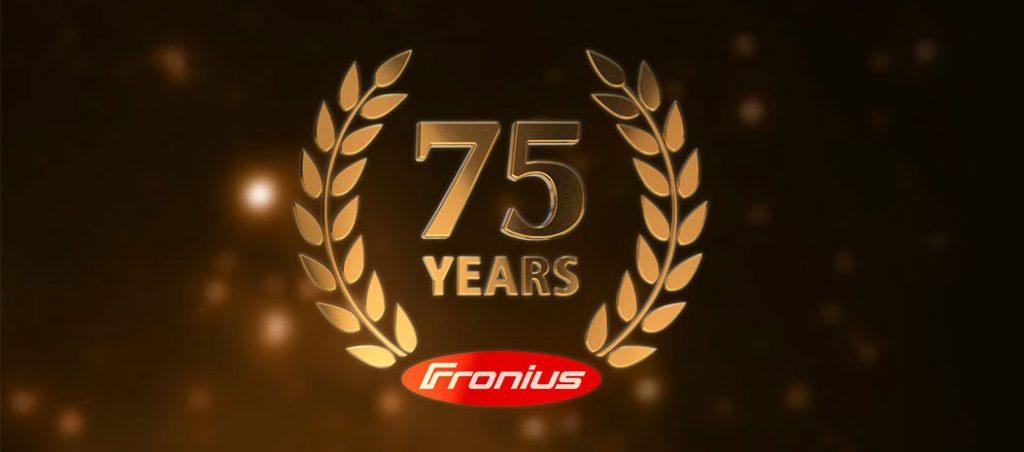 Fronius comemora 75 anos