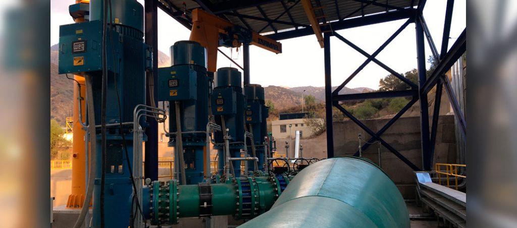 WEG fornece motores especiais para projeto de lagos reservatórios no Chile