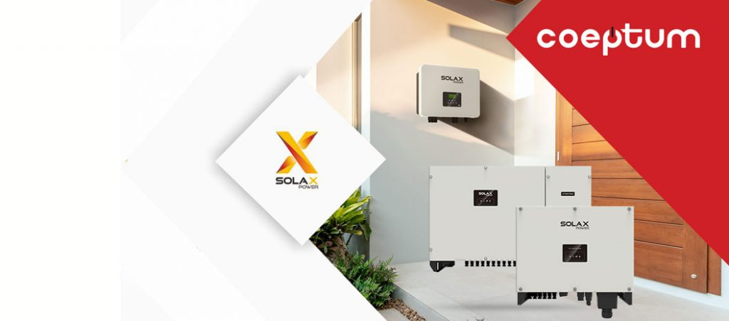 COEPTUM alarga portefólio de inversores SolaX Power