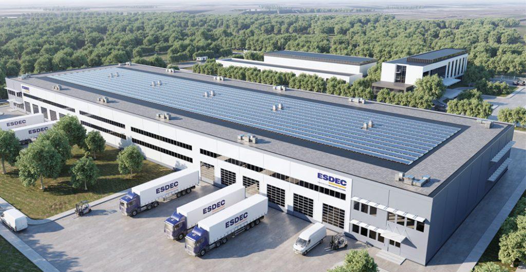 Esdec, fornecedor de sistemas de montagem universal para instalações fotovoltaicas