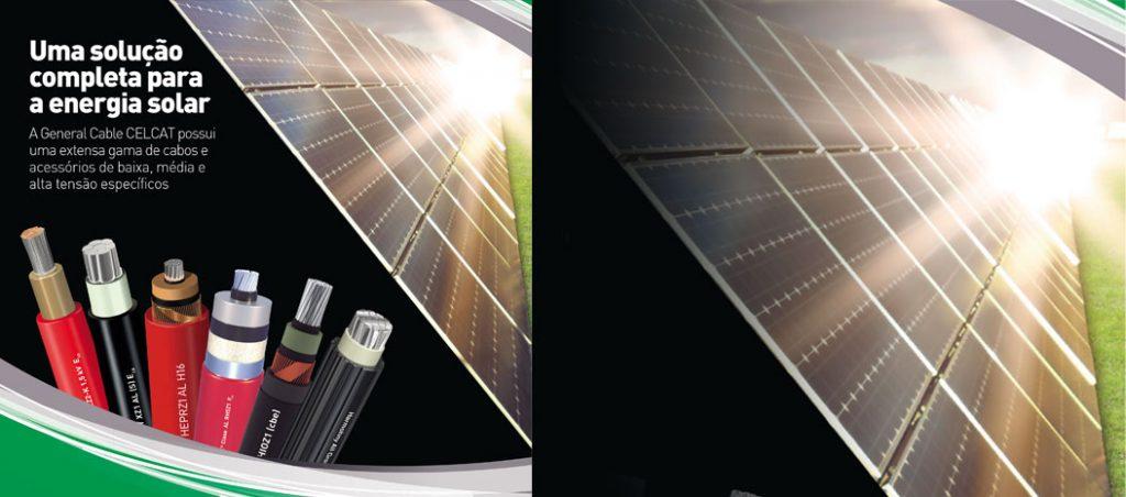 General Cable CELCAT apresenta o novo catálogo solar