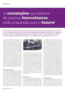 case study de instalações de sistemas fotovoltaicos
