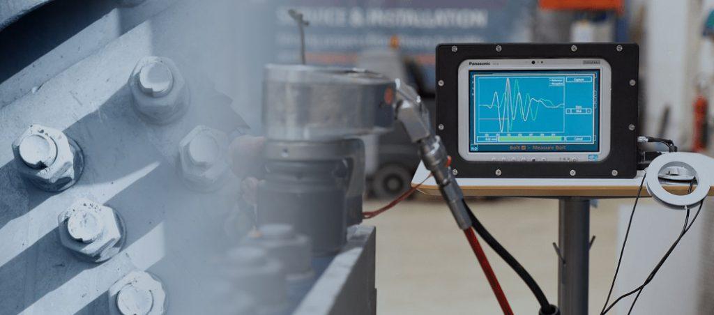 Patenteado e certificado sistema Bolt-Check da R&D A/S