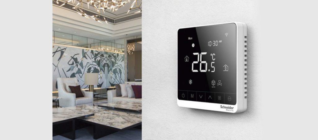 Climatização mais eficientes com novos termostatos digitais da SE