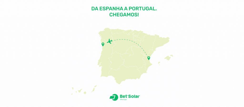 Bet Solar inicia a sua atividade comercial em Portugal
