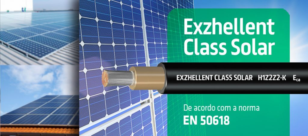 Novo cabo Exzhellent Class Solar