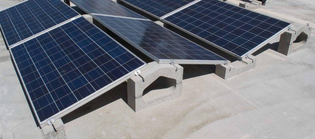 Novo suporte para painéis solares