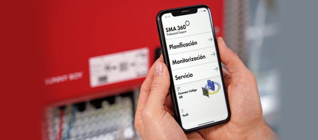 App SMA 360º, assistência no planeamento de instalações fotovoltaicas