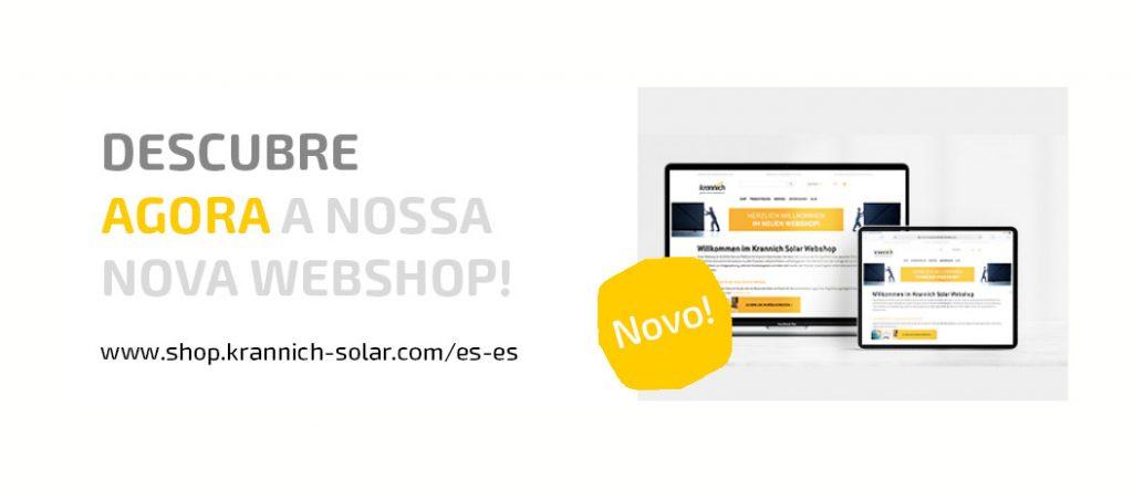 Krannich Solar lança nova loja online 2.0 para Espanha e Portugal