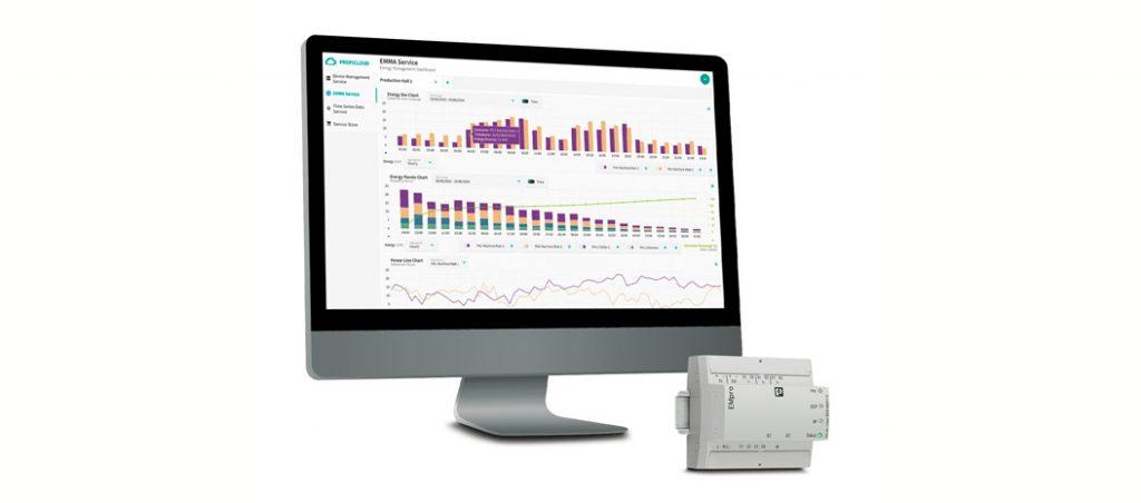 EMMA: monitorização, gestão e análise de consumos de energia
