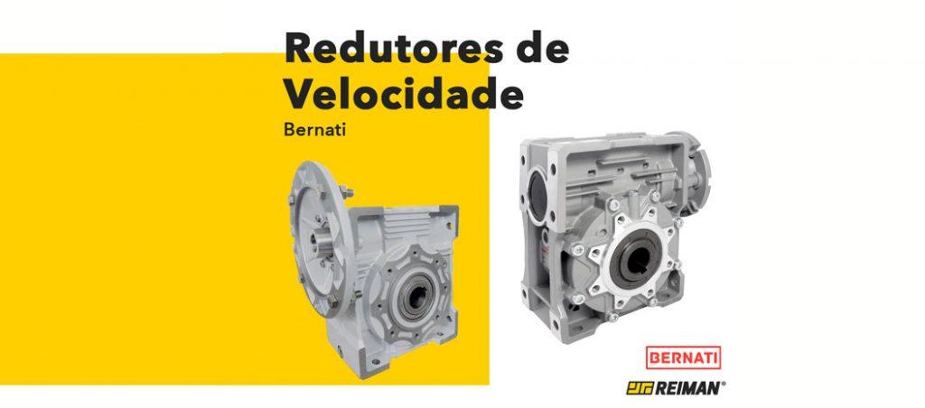 Redutores de velocidade da Bernati