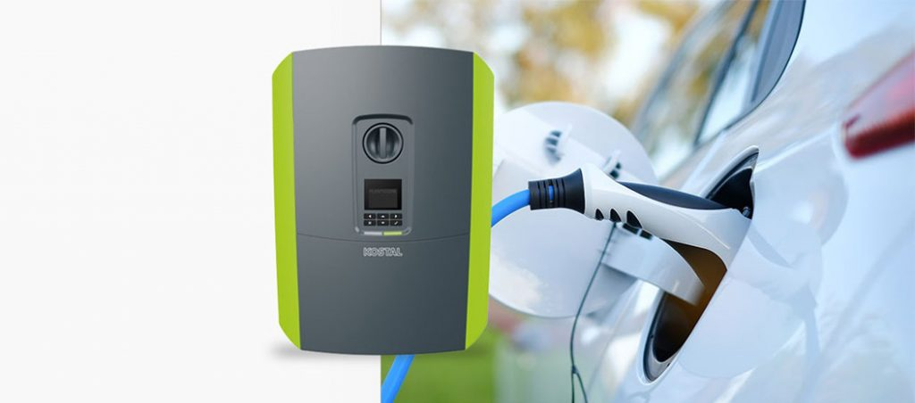 H1, a wallbox da KOSTAL: perfeita combinação com solar!